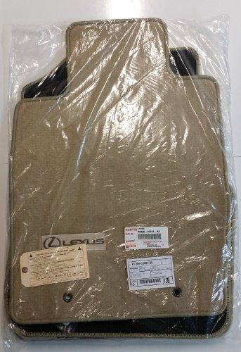 Toyota Genuine Parts PT206-33054-30 OEM Lexus ES300 ES330 Ivory Carpet Floor Mat Set