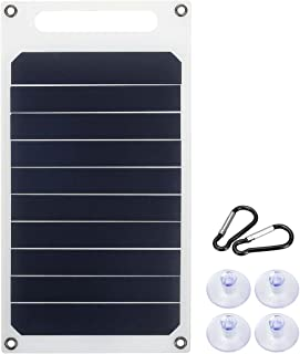 WANGYONGQI 6V 10W 1.7A Panneau Solaire Portable Solar Solar Slim & Light Charger USB Chargeur Power Power Power Bank