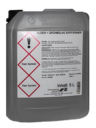 CVH Algen- und Grünbelag Entferner Konzentrat 5 Liter (G1/15)