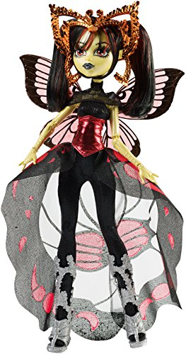 Monster High Mattel CHW62 - Buh York, Luna Moth, Puppe