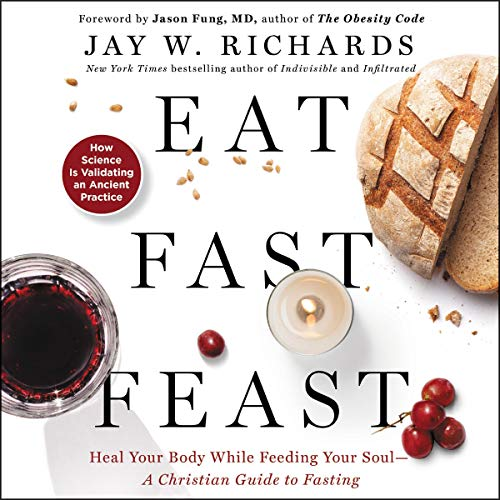 Eat, Fast, Feast audiobook cover art