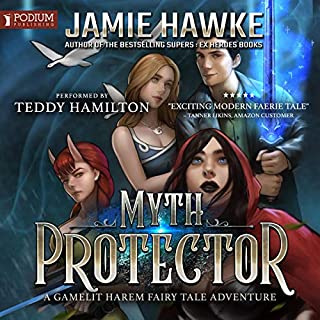 Myth Protector     Myth Protector, Book 1              By:                                                                                                                                 Jamie Hawke                               Narrated by:                                                                                                                                 Teddy Hamilton                      Length: 6 hrs and 54 mins     6 ratings     Overall 5.0