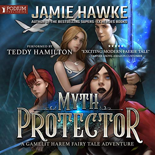 Myth Protector audiobook cover art