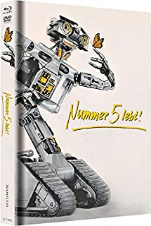 Nummer 5 lebt - Mediabook - Cover B - Weiss - Limited Edition auf 222 Stück  (+ DVD) [Blu-ray]
