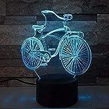 Lámpara De Ilusión3D Led Night Light Drum Set Lamp Optical Illusion 7 Color Changing Touch Control Table Desk Lamps Acrylic Flat &Amp Abs Base &Amp Usb Line-Uut1998