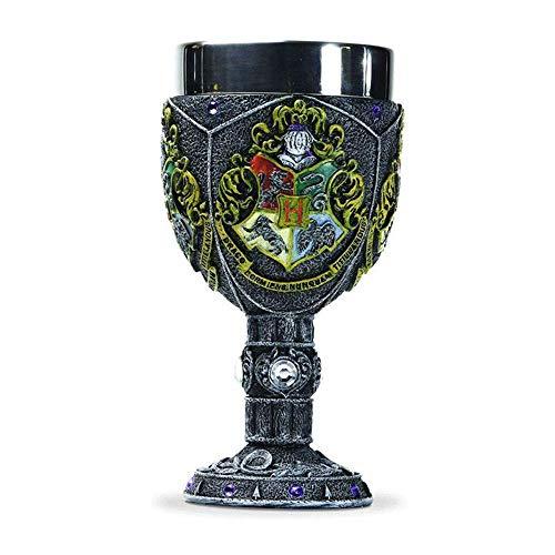 N / A The Wizarding World of Harry Potter Ravenclaw Marioneta Decorada con Taza, La Escuela De Brujería Y Magia De Harry Potter La Altura De La Taza Es De 18,5 Cm, Multicolor (Hogwarts)