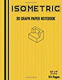 Isometric Notebook | Isometric Graph Paper Notebook | .25 Inch Equilateral Triangle | 126 Pages | 8.5' x 11' , 63 Sheets double-sided: Low Line ... Designers (Technical Creation Paper)