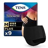 TENA Pants Negros para pérdidas de orina para Mujer, talla M 511 g