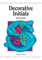 Decorative Initials (Design Source Books)