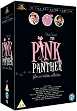 The Pink Panther Complete Collection All 6 Movies (The Pink Panther, A Shot in the Dark, Pink Panther Strikes Again, Revenge of the Pink Panther, Trail of The Pink Panther and Return of the Pink Panther) Films + All 124 Original Cartoon Episodes (12 Disc) DVD Collection Box Set + More than 3 Hours of Special Features + Extras