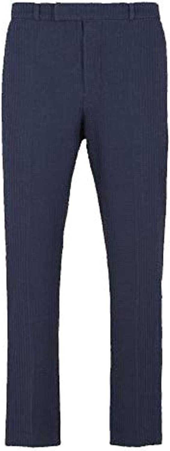 Emporio Armani Classic Fit Wool Trousers Size 36