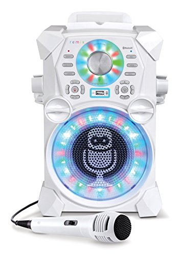 Singing Machine SDL485W Remix Hi-Def Digital Karaoke System with...