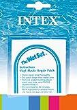 INTEX Wet Set Adhesive Vinyl Plastic Swimming Pool Tube Repair Patch, 12 Pack