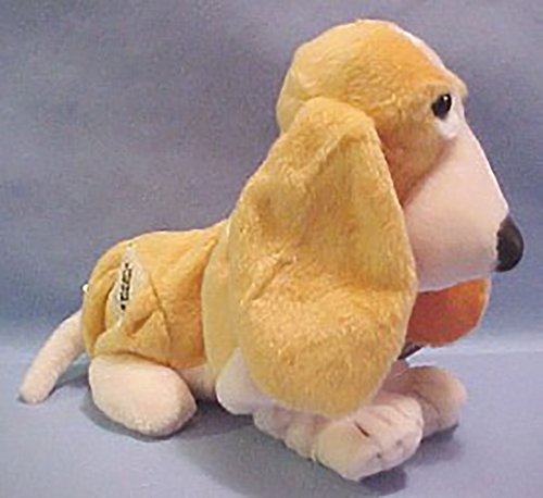 Hush Puppies Plush Vanilla Scented Peaches N' Cream Basset Hound Stuffed Animal