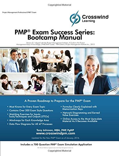 PMP Exam Success Series: Bootcamp Manual with Exam Sim App