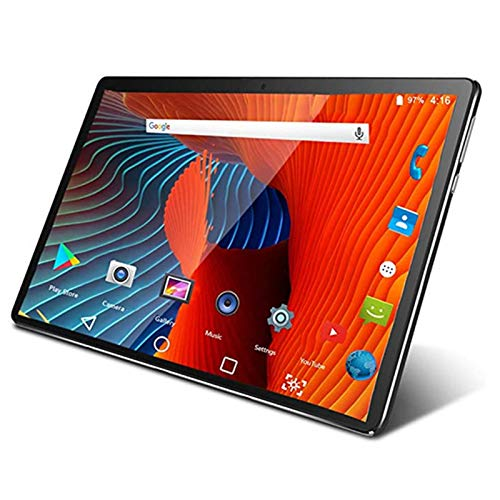 Dsqcai Tablet PC 10.1 Pulgadas Android 10.0 Google Play 3G 4G Tablet PC Tablet PC WiFi Bluetooth GPS GPS Vidrio Templado 10 Pulgadas Tablet PC