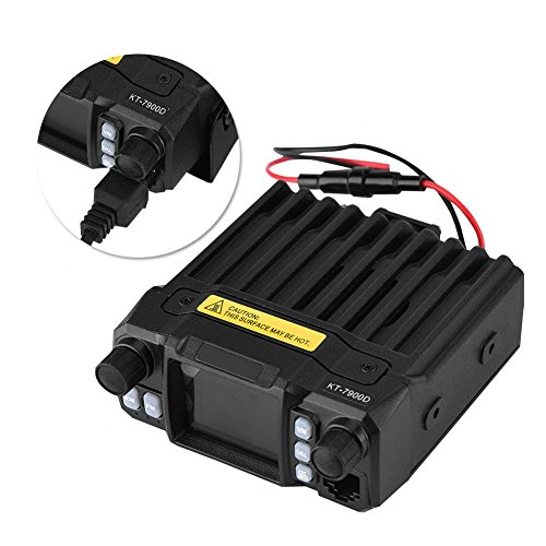 AMONIDA VHF/UHF Frecuencia Estable Walkie Talkie para automóvil 200 Canales 5-50 km Distancia Transceptor CB de Radio móvil