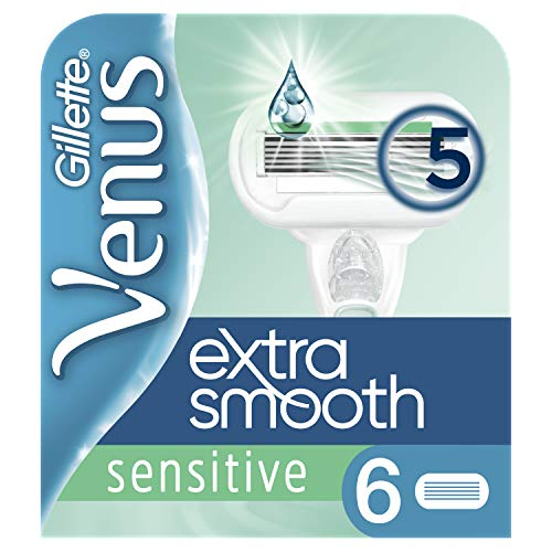 Venus Extra Smooth Sensitive Ersatzklingen, 6 Stück