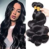 Allnice Brazilian Body Weave Hair Bundles 8A Grade 3 Bundles 100% Unprocessed Virgin