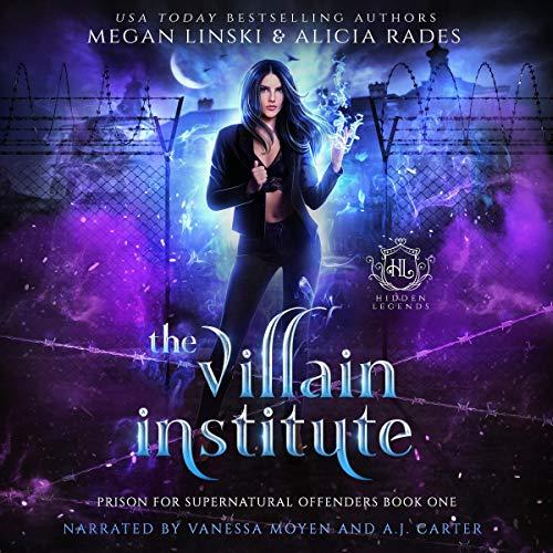 The Villain Institute Audiobook By Megan Linski, Alicia Rades, Hidden Legends cover art