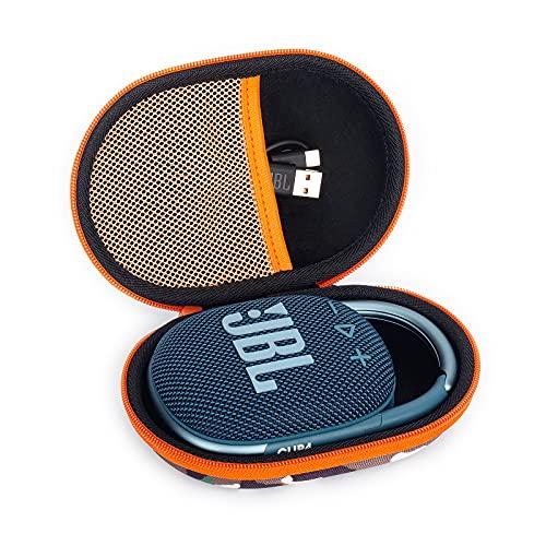 Estuche para JBL Clip 4 Altavoz Inalámbrico con Bluetooth Funda, Caso Cubrir de Organizador Portátil Rígido Bolsa de Almacenamiento para Caja Bolso de Viaje (Camouflage)