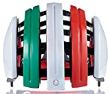 Carrera Radsport-Helm Foldab GTE, Italien Flag, 58-61 cm