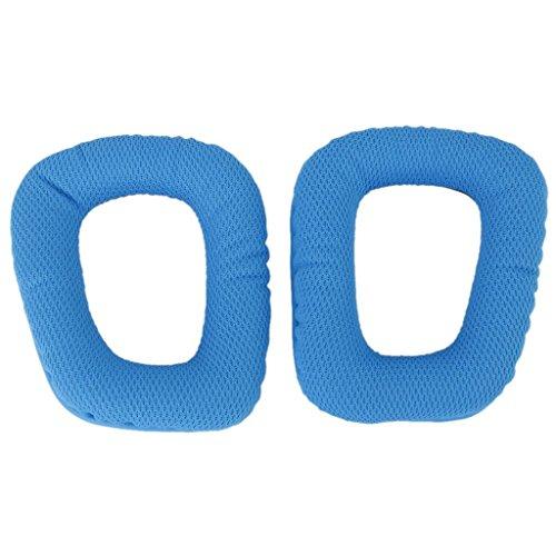 Top Elecs Blau Ersatzohrpolster Ohrpolster für G35 G930 G430 F450 Kopfhörer