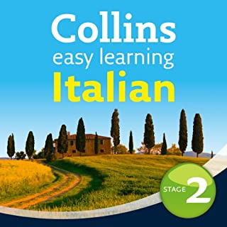 Italian Easy Learning Audio Course Level 2 audiobook cover art