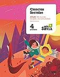 Ciencias sociales. 4 Primaria. Más Savia. Extremadura