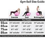 Zoom IMG-1 core balance gym ball palla