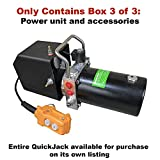 NOT FOR INDIVIDUAL SALE - 5,000 lbs. and 7000lbs. Capacity Portable Car Lift Box 3 of 3 - Power Adapter - do not Purchase - Full Product Available on its own Listing