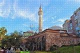 Mesllings Rompecabezas para adultos Manisa Cami Turquía Puzzle 300 piezas de madera regalo de recuerdo de viaje