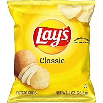 Lay s Classic Potato Chips 1 oz  Pack of 40