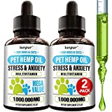 Maximum Potency: our pet hemp oil is enriched with natural ingredients to help you with stress & anxiety. If your tailed friend suffers - hemp oil for dogs & cats may help you to ease sufferings & support pet's health. Deep Sleep: our unique product ...