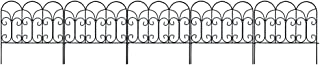 decorative wrought iron fence