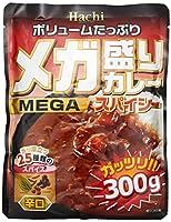 ハチ食品 メガ盛りカレースパイシー辛口 300g ×10袋