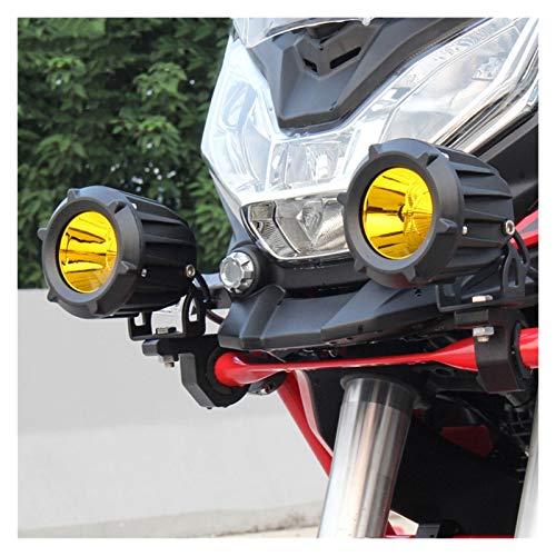WYOY Motocicleta Spotlight 20W Car LED Spotlight Glare Super Bright Lámpara Delantera Frontal De Parachoques Traje De Retroalimentación SUV Revita Luces De Techo De Automóviles para 12V-24V