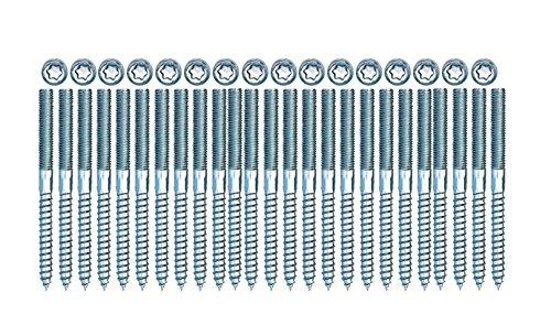 Stockschraube Stahl verzinkt M8 x 100 TX25 25 Stück