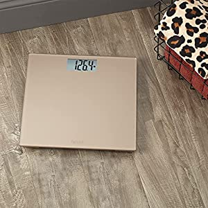 Taylor Precision Products, Champagne Digital 400 lb Capacity Bathroom Scale, One Size