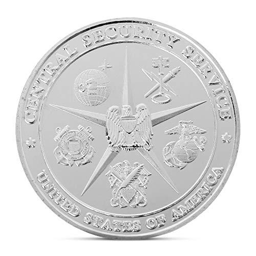 ZijianZZJ - Moneda conmemorativa, rara y preciosa Agencia Nacional de