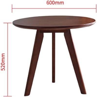 JCCOZ-URG Round Tea Table, Coffee Table Desk Multi Function Wood Living Room Home Decor Cocktail Desk JCCOZ-URG (Color : B)