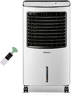 LSX Aire acondicionado portátil: cuatro estaciones universal, 7,5 h de sincronización, tanque de bombeo completo de 8L, calefacción y refrigeración de doble uso en el hogar, aire acondicionado de refr
