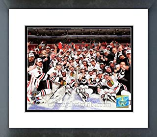 Chicago Blackhawks 2010 Stanley Cup Champions Team Framed Picture 8x10