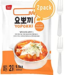 A TASTE OF KOREA - We have captured the delicious taste of various Korean dishes so that they can be prepared in minutes but accessible anywhere in the world. This particular dish has a soft texture mixed with a spicy and sweet sauce! Precautions - D...
