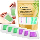 Premium 2 in 1 Foot Pads, Nature Rapid Foot Care and Pain Relief, Higher Efficiency Than Foot Cushions, Sleeve Metatarsal Pads, Reflexology, Improve Circulation - Foot Pads for 2019, 28 Packs