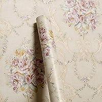 WOW Interiors PVC Self Adhesive Floral Wallpaper, 200 x 45 cm