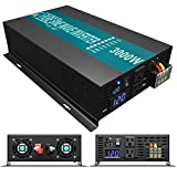 WZRELB 3000watt Pure Sine Wave Inverter 12V DC to 120V AC 60HZ...