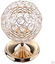8X Crystal Candle Holder Candlestick Globe Pillar Wedding Anniversary Decor