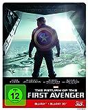 Bluray 3D Charts Platz 4: The Return of the First Avenger Steelbook - 3D + 2D  [3D Blu-ray]