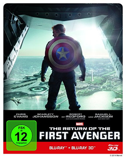 The Return of the First Avenger (Steelbook) (+ Blu-ray 3D) [Blu-ray] [Limited Edition]